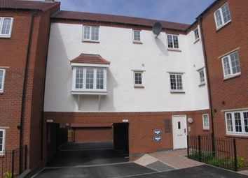 Thumbnail 1 bed flat to rent in Salford Way, Church Gresley, Swadincote, Derbyshire