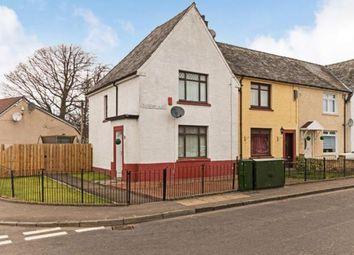 Thumbnail 2 bed end terrace house for sale in Bandeath Road, Fallin, Stirling, Stirlingshire