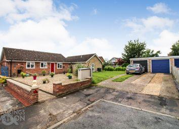 Thumbnail 3 bed detached bungalow for sale in Plantation Close, Attleborough