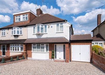 Thumbnail 3 bed semi-detached house for sale in Lechmere Avenue, Chigwell, Essex