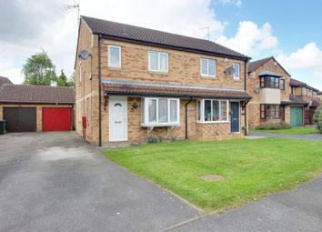 Thumbnail 3 bedroom semi-detached house for sale in Redmires Close, York