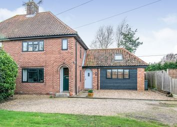 3 bed semi-detached house for sale in Cromer Road, Hevingham, Norwich NR10
