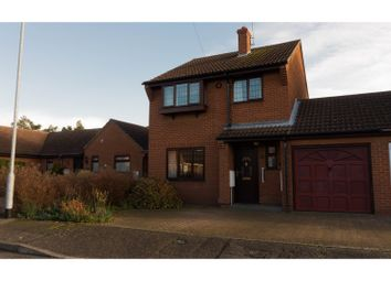 Thumbnail 3 bed link-detached house for sale in Barratts Close, Whittlesey