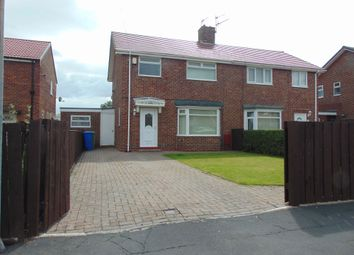 Thumbnail 3 bed semi-detached house for sale in Charters Crescent, South Hetton, Durham