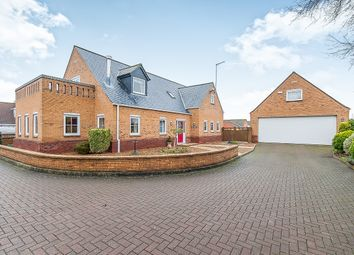 Thumbnail 5 bedroom property for sale in Harpers Court, Emneth, Wisbech