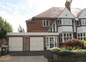 Thumbnail 4 bedroom semi-detached house for sale in Manor Road North, Edgbaston, Birmingham