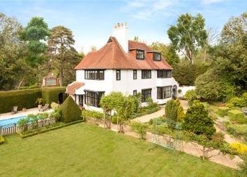 Thumbnail 5 bed detached house for sale in Upper Park Road, Camberley, Surrey