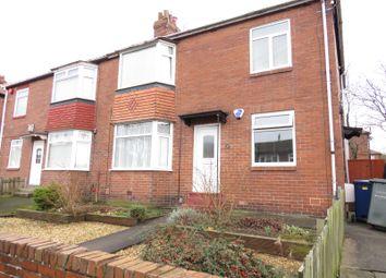 Thumbnail 2 bedroom flat for sale in Deanham Gardens, Fenham, Newcastle Upon Tyne