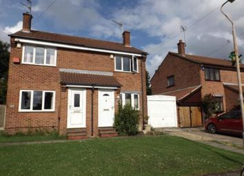Thumbnail 2 bed semi-detached house to rent in Breckbank, Forest Town, Mansfield