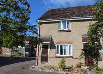 Thumbnail 2 bed end terrace house to rent in Worcester Close, Bury St Edmunds, Suffolk