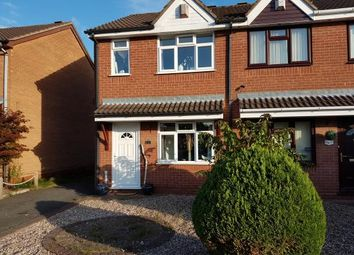 Thumbnail 2 bed semi-detached house to rent in Mayfields Drive, Brownhills, Walsall, West Midlands
