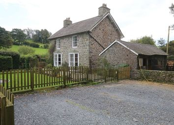 Thumbnail 5 bed equestrian property for sale in Cemmaes, Machynlleth, Powys