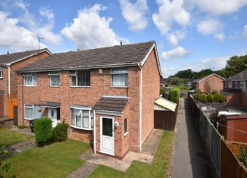 Thumbnail 3 bed semi-detached house for sale in Nene Court, Oadby, Leicester