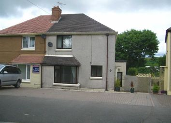 Thumbnail 3 bed semi-detached house for sale in St. Lawrence Avenue, Hakin, Milford Haven