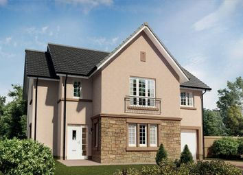 "Thumbnail 4 bedroom detached house for sale in ""The Cleland"" at Queens Drive, Cumbernauld, Glasgow"