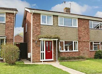 Thumbnail 3 bedroom semi-detached house for sale in Poplar Close, Sherfield-On-Loddon, Hook