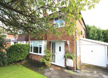 Thumbnail 3 bed semi-detached house for sale in Meadway, Bramhall, Cheshire