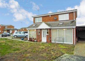 Thumbnail 3 bed detached house for sale in Orchard Close, Hail Weston, St. Neots