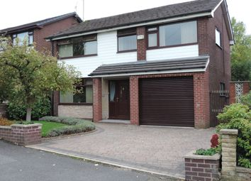 Thumbnail 4 bed detached house for sale in Oozewood Road, Royton, Oldham