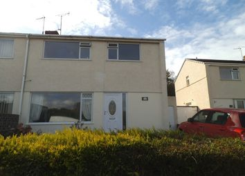 Thumbnail 3 bed semi-detached house to rent in Heol Y Bardd, Bridgend