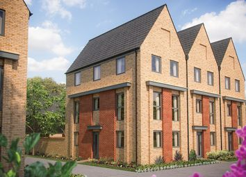 "Thumbnail 3 bed semi-detached house for sale in ""The Woodbridge"" at Station Road, Longstanton, Cambridge"