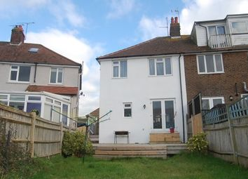 Thumbnail 3 bed semi-detached house to rent in Queens Crescent, Eastbourne