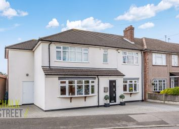 Thumbnail 4 bed end terrace house for sale in Warren Drive, Hornchurch