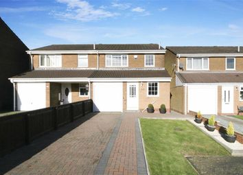 Thumbnail 3 bed semi-detached house for sale in Coverdale, Wallsend, Newcastle Upon Tyne