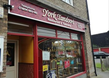 Thumbnail Leisure/hospitality for sale in Indian Restaurant & Takeaway YO31, North Yorkshire