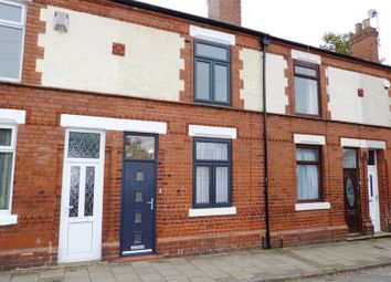 Thumbnail 2 bed terraced house for sale in Sefton Avenue, Congleton, Cheshire