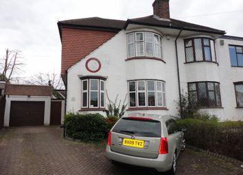 Thumbnail 4 bed semi-detached house to rent in Felstead Road, Orpington