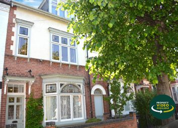 Thumbnail 4 bed terraced house for sale in Upperton Road, Westcotes, Leicester