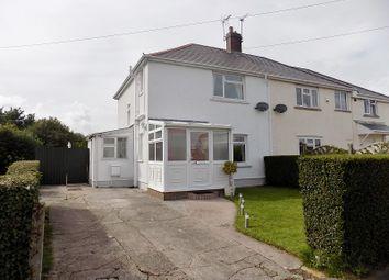 Thumbnail 3 bed semi-detached house for sale in Pendre, Bridgend