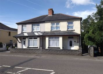 Thumbnail 3 bed semi-detached house for sale in Ammanford Road, Llandybie, Ammanford, Carmarthenshire