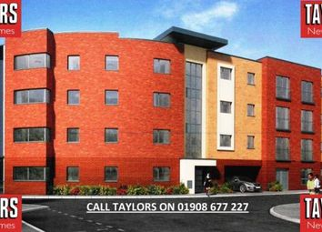 Thumbnail 2 bed flat for sale in Life, Off Bowling Green Lane, Bletchley, Milton Keynes