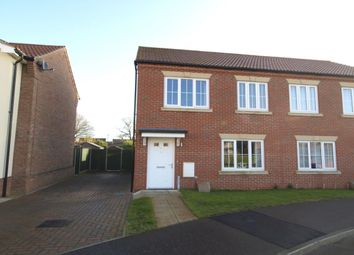 Thumbnail 2 bed semi-detached house for sale in Park View, Horsford, Norwich