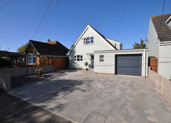 Thumbnail 3 bed detached house for sale in Fairhaven Avenue, West Mersea, Colchester