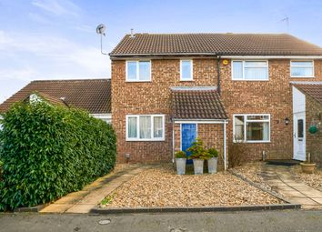 Thumbnail 3 bed semi-detached house for sale in Washburn Close, Bedford