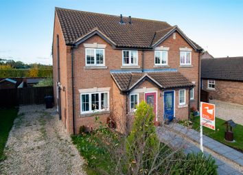 Thumbnail 3 bed semi-detached house for sale in Church Walk, Sibsey, Boston