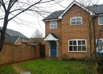 Thumbnail 3 bed end terrace house to rent in Chelveston Crescent, Southampton