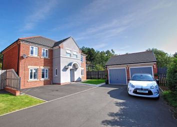 Thumbnail 4 bed detached house for sale in Nuthatch Close, Wideopen, Newcastle Upon Tyne