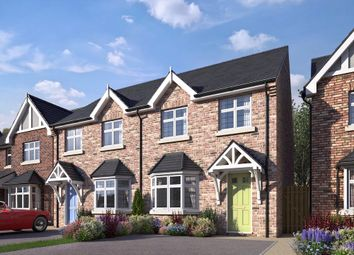 Thumbnail 3 bed semi-detached house for sale in Meadow, Shipley Park Gardens, Shipley, Derbyshire