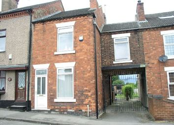 Thumbnail 3 bed terraced house for sale in Meadow View, Wessington Lane, South Wingfield, Alfreton
