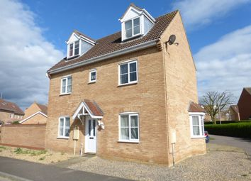 Thumbnail 4 bedroom detached house for sale in Jubilee Way, Crowland, Peterborough