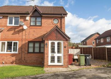 Thumbnail 2 bed semi-detached house for sale in Greenoak, Stoneclough, Radcliffe