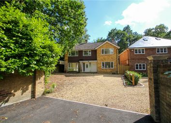 Thumbnail 5 bed detached house for sale in Prior Road, Camberley, Surrey