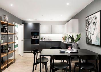 Thumbnail 3 bedroom flat for sale in Wyke Road, Hackney Wick
