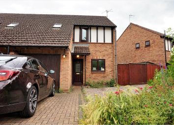 Thumbnail 3 bed semi-detached house for sale in Woodhall Rise, Peterborough