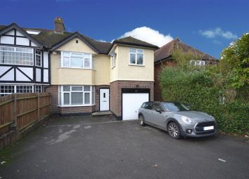 Thumbnail 3 bed semi-detached house for sale in Merland Rise, Epsom