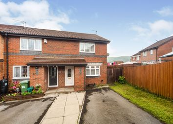 Thumbnail 2 bed end terrace house for sale in Cefn Close, Glyncoch, Pontypridd